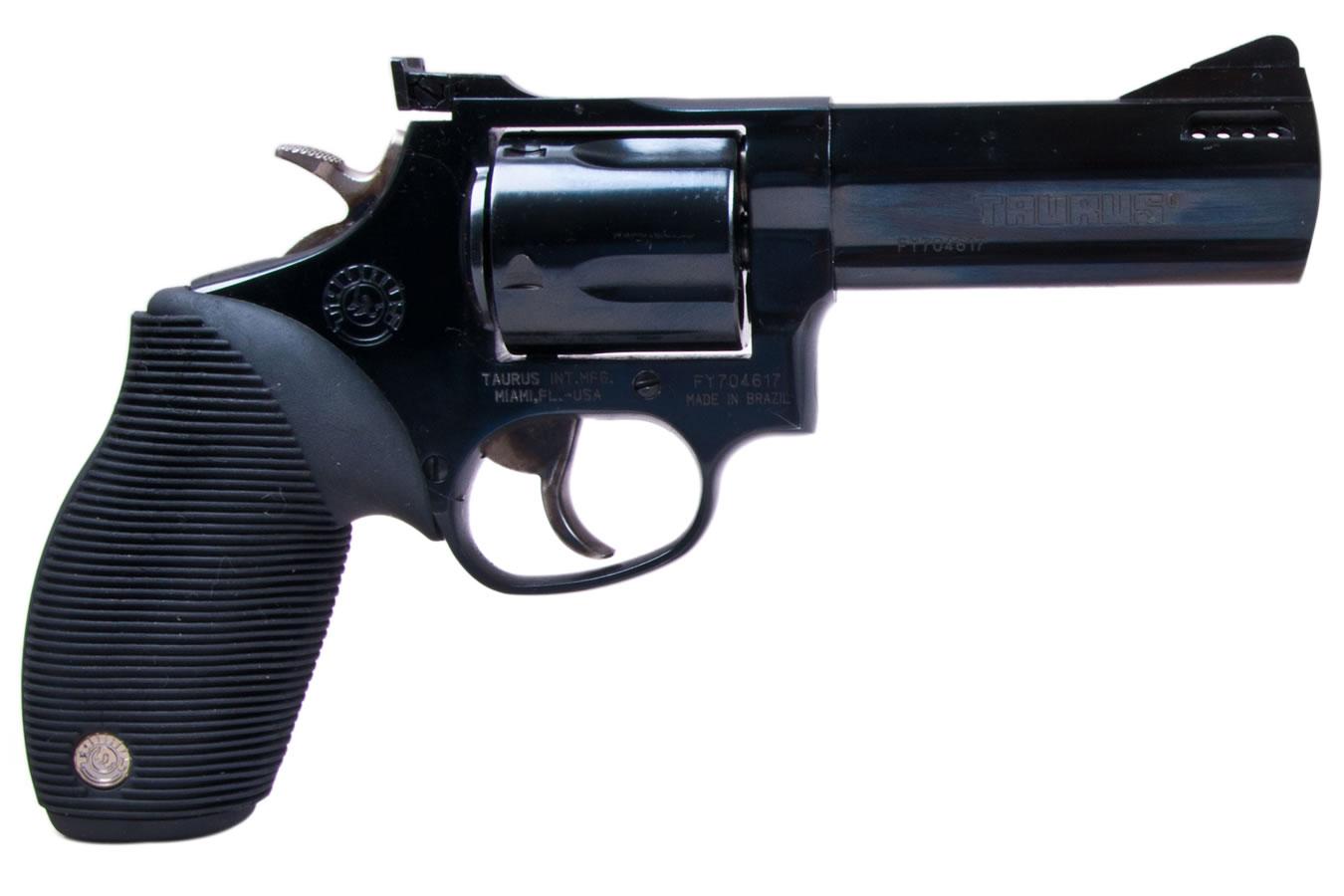 Taurus Tracker .44 Magnum Black Revolver (4-inch Barrel) | Sportsman's Outdoor Superstore