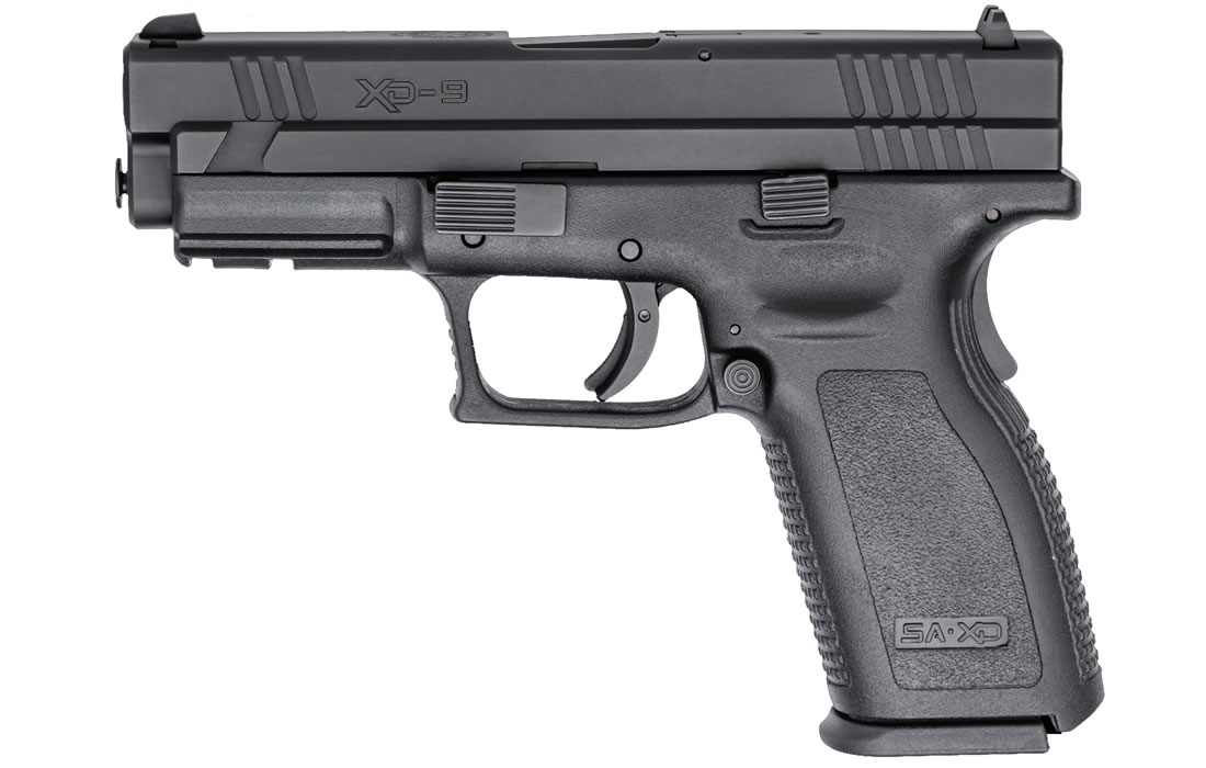 Springfield Xd 9mm Service Model Black Essentials Package