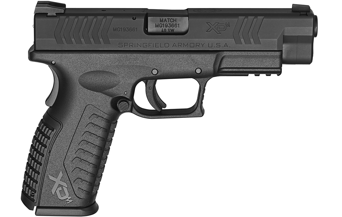 springfield xdm 40 s w 4 5 full size black sportsman 39 s. Black Bedroom Furniture Sets. Home Design Ideas